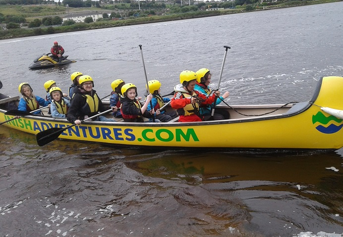 group watersports in donegal