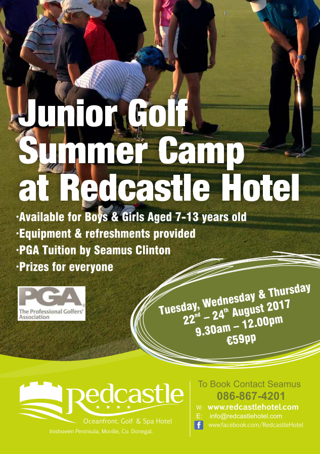 junior golf camp redcastle